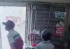 Nigerian man caught on CCTV stealing phone in a shop in Lagos (video)